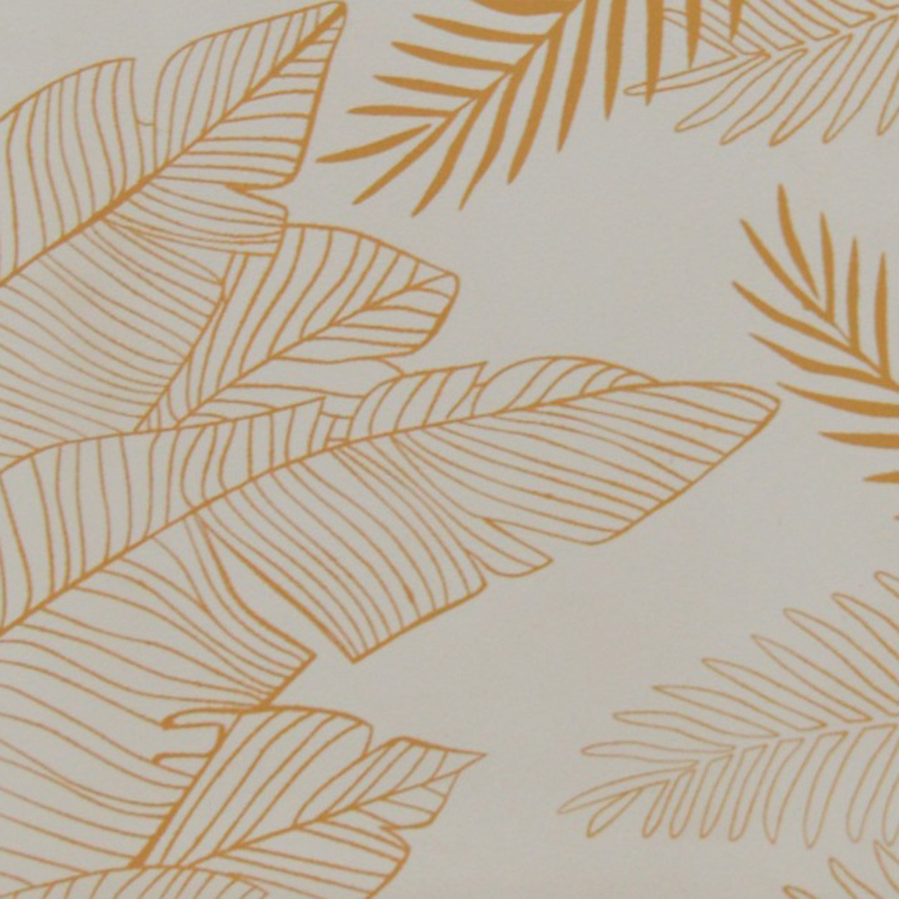GOLDEN LEAF SCREEN PRINT